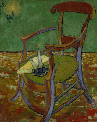 The Chair Of Paul Gauguin Van Gogh - Peaceful Wooden Jigsaw Puzzles