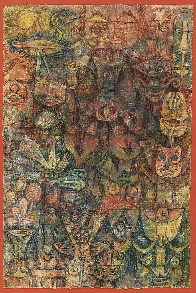 Strange Garden by Paul Klee - Wooden Jigsaw Puzzles for Adults