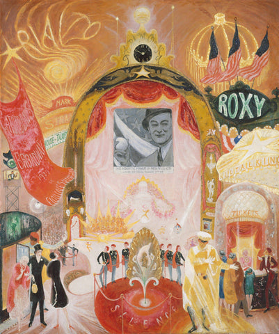 The Cathedrals of Broadway by Florine Stettheimer - Wooden Jigsaw Puzzles for Adults