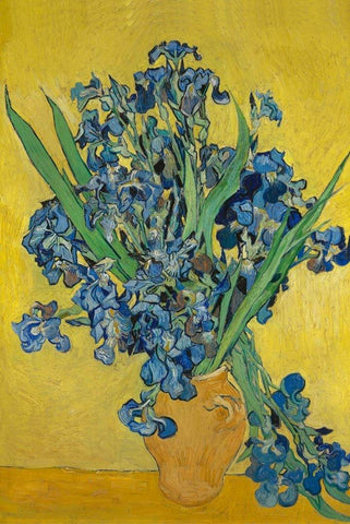 Irises by Van Gogh Peaceful Wooden Puzzles