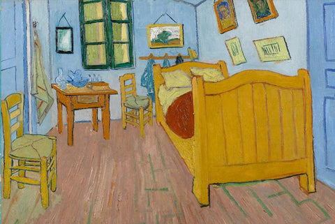 The Bedroom by Van Gogh - Peaceful Wooden Puzzles
