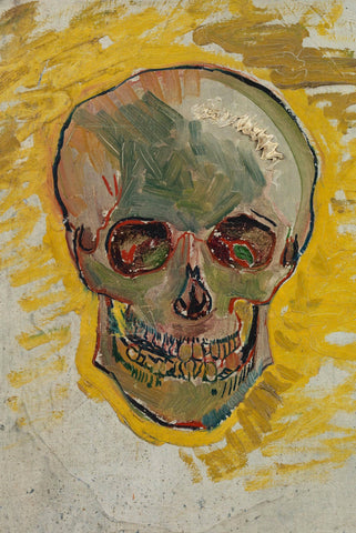 Skull by Van Gogh - Peaceful Wooden Jigsaw Puzzles