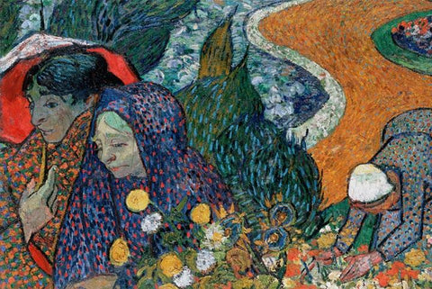 Ladies of Arles by Van Gogh - Peaceful Wooden Puzzles