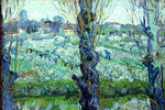 View of Arles by Van Gogh - Wooden Jigsaw Puzzles for Adults