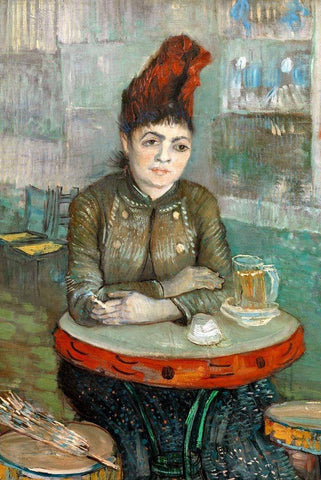In the Café by Van Gogh - Wooden Jigsaw Puzzles for Adults