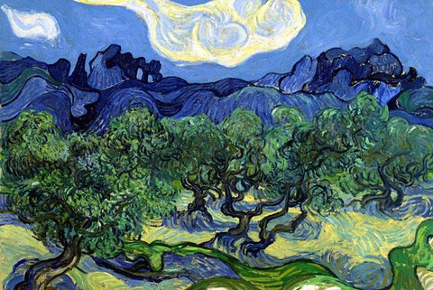 The Olive Trees by Van Gogh - Wooden Jigsaw Puzzles for Adults