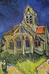 The Church of Auvers by Van Gogh - Peaceful Wooden Jigsaw Puzzles