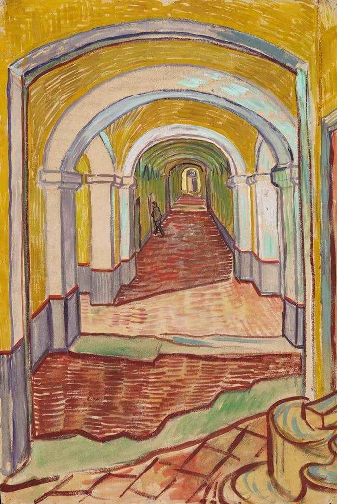 Corridor in the Asylum by Van Gogh - Peaceful Wooden Puzzles