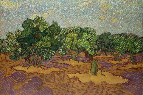 Olive Trees by Van Gogh - Wooden Jigsaw Puzzles for Adults