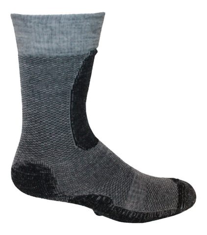 alpaca hiking socks padded foot