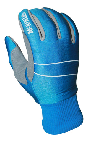 blue nordic cross country ski glove for recreational skier