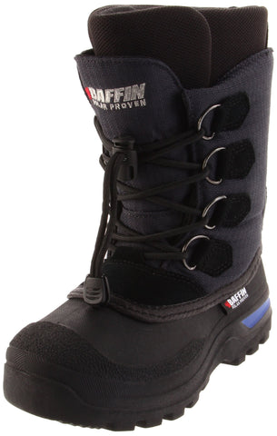 Baffin Canadian Insulated Boot (Little Kid/Big Kid),Navy,  M US Big Kid