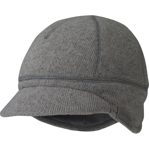 Outdoor Research Kids' Longhouse Cap, Pewter, XS/S