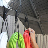 Hook and Hang- The Ultimate Bungee Organizing 100% Made in USA (pack of 3)