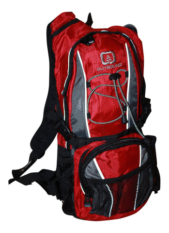 Outbound Dash Hydration Pack with  2 Liter BPA Free Hydration Bladder