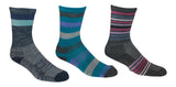 Womens 82% Super Soft Merino Wool Hiking Socks   - Made in USA