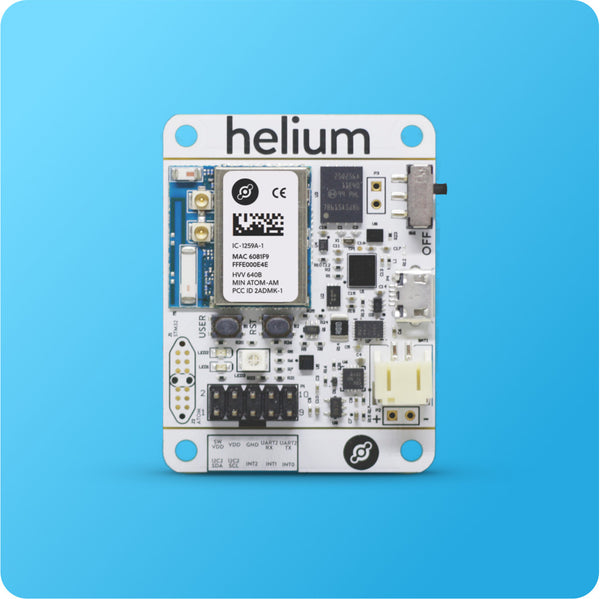 Helium Atom Development Board