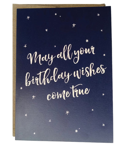 May All Your Birthday Wishes Come True Birthday Card - Idea Chíc