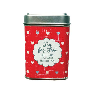 Tea For Two Gift or Favor Tin - Idea Chíc
