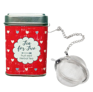 Tea for Two Tin with Infuser - Idea Chíc
