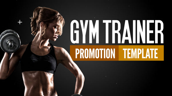 Gym Trainer Promotion