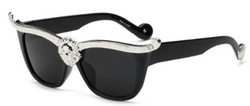 Amber Line Sunglasses - BombShell Queens