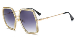 Chelsey Oversized Sunglasses - BombShell Queens