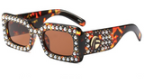 G Square Pearl Sunglasses - BombShell Queens