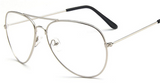 Clear Aviator Frames - BombShell Queens