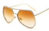 2017 Solitaire Aviator Sunglasses - BombShell Queens