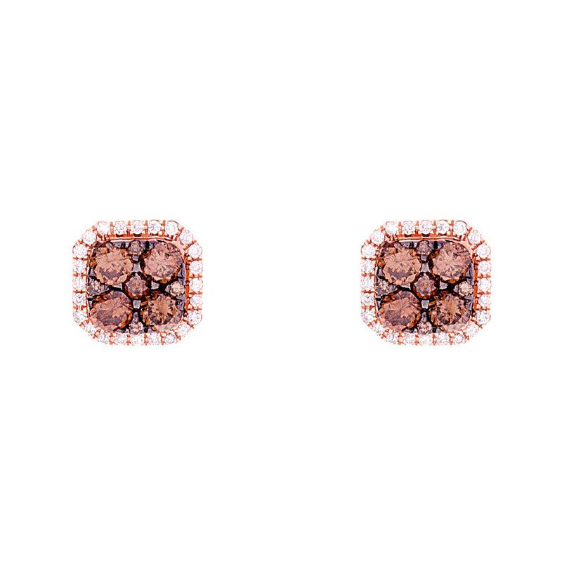 Choco Diamond Earring