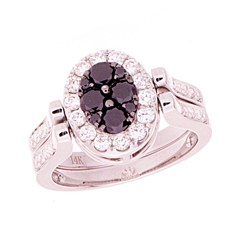 Ladies Diamonds Reversable Ring