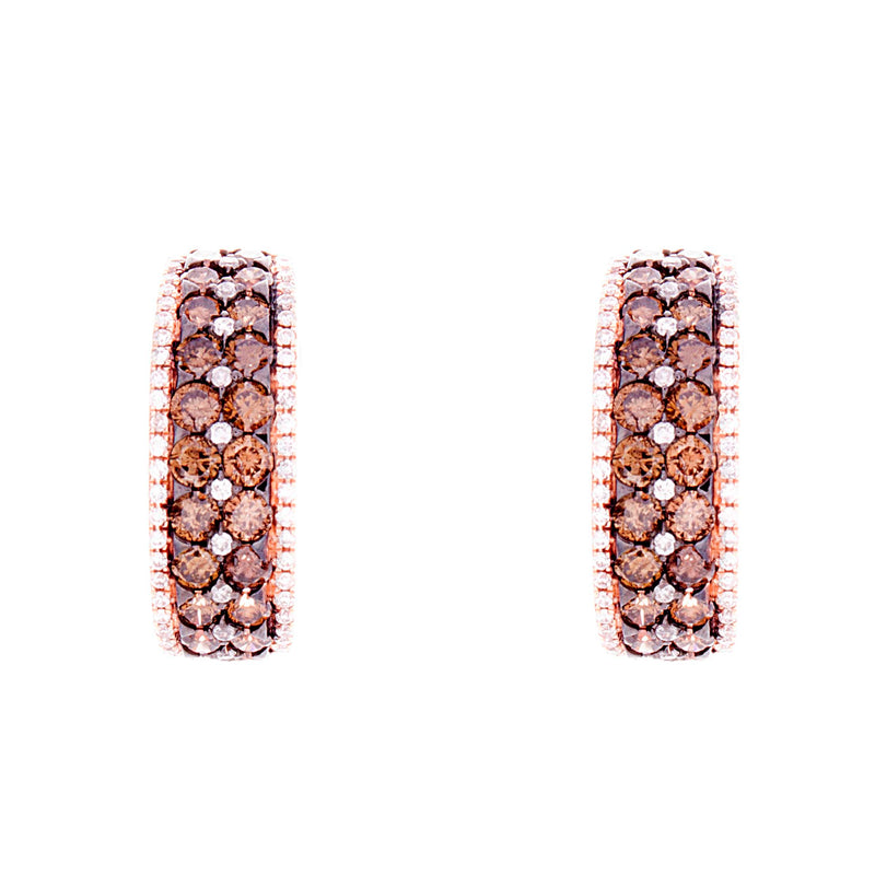 Choco Diamond Earrings
