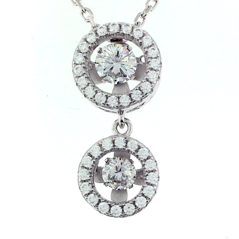 Silver Necklace - MP12790A-C