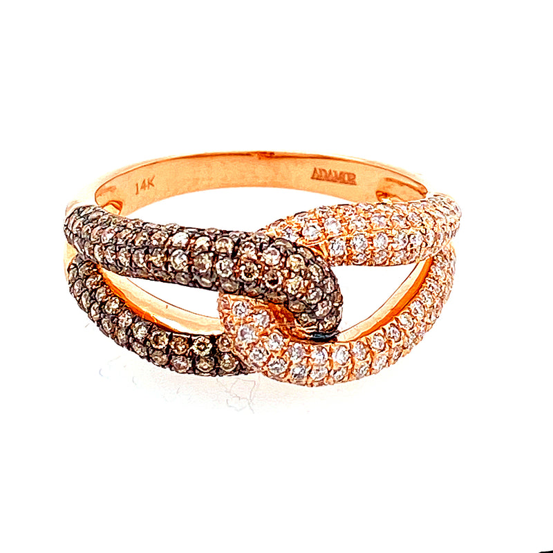 Choco Diamond Ring