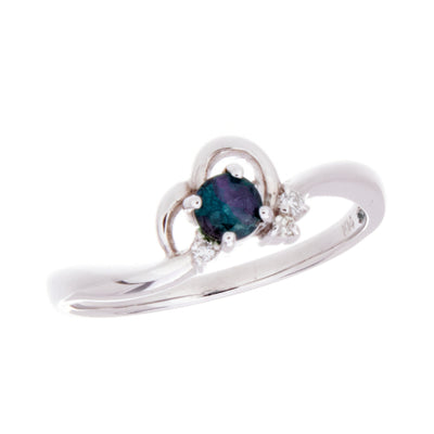 Alexandrite and Diamond Ring - Jewelry Store in St. Thomas | Beverly's Jewelry