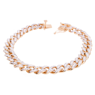 Diamond Cuban Bracelet - Jewelry Store in St. Thomas | Beverly's Jewelry