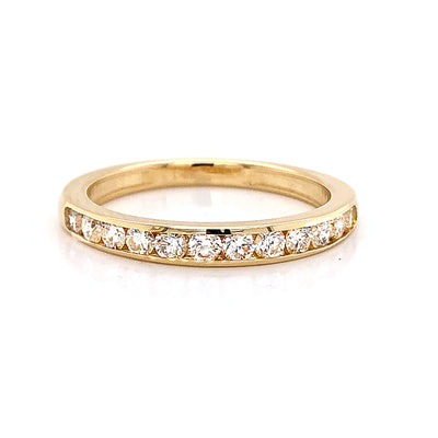 Channel Set Diamond Band - Jewelry Store in St. Thomas | Beverly's Jewelry