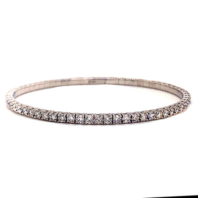 Diamond Flex Bangle - Jewelry Store in St. Thomas | Beverly's Jewelry