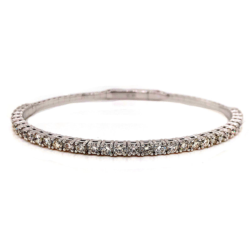 Diamond Flex Bangle