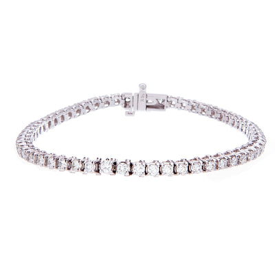 Three carat diamond tennis bracelet - Jewelry Store in St. Thomas | Beverly's Jewelry