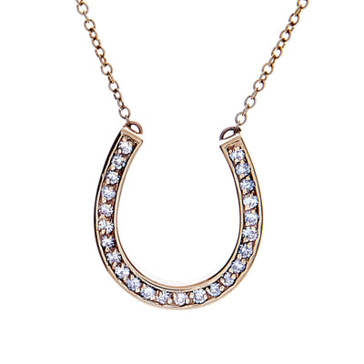 Diamond Horseshoe Necklace - Jewelry Store in St. Thomas | Beverly's Jewelry