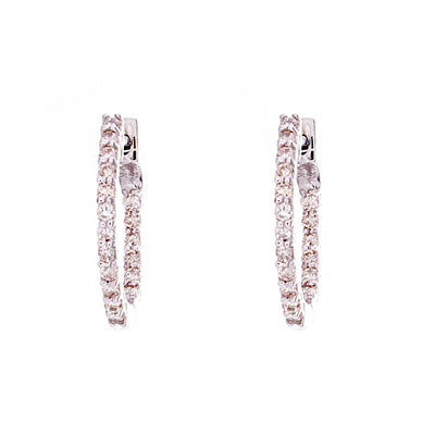 Diamond Hoop Earrings - Jewelry Store in St. Thomas | Beverly's Jewelry