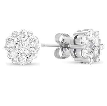 Diamond Earrings - EDD2083