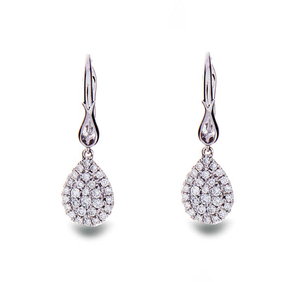 Diamond Dangling Earrings - Jewelry Store in St. Thomas | Beverly's Jewelry