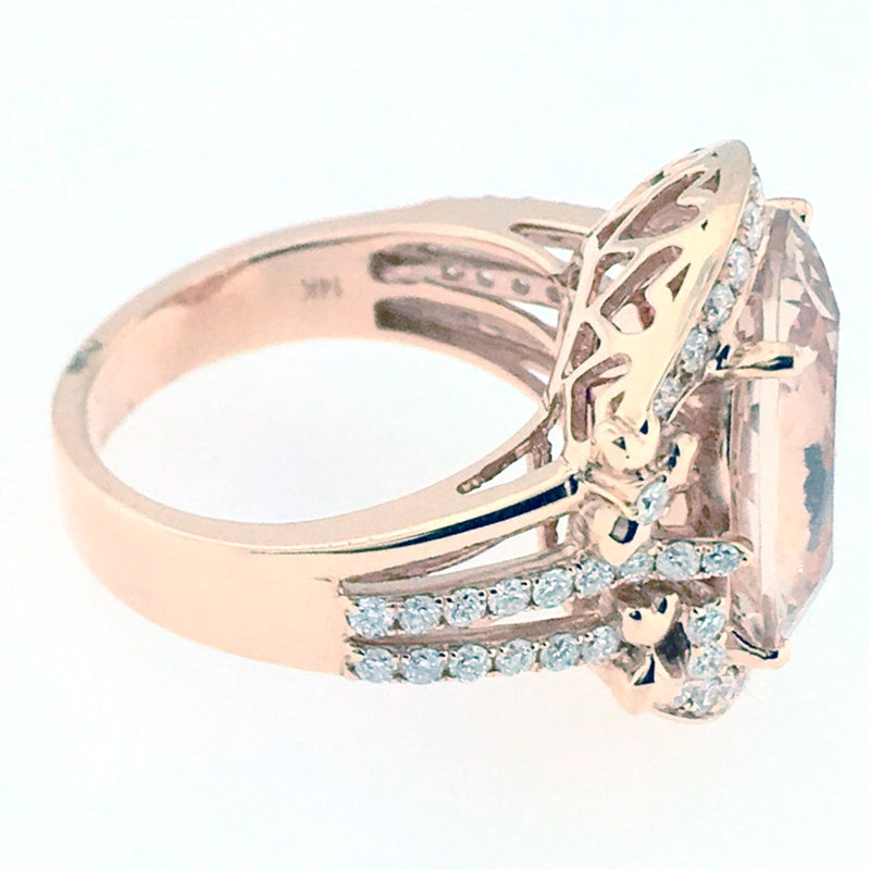 Morganite Ring - 2604 R