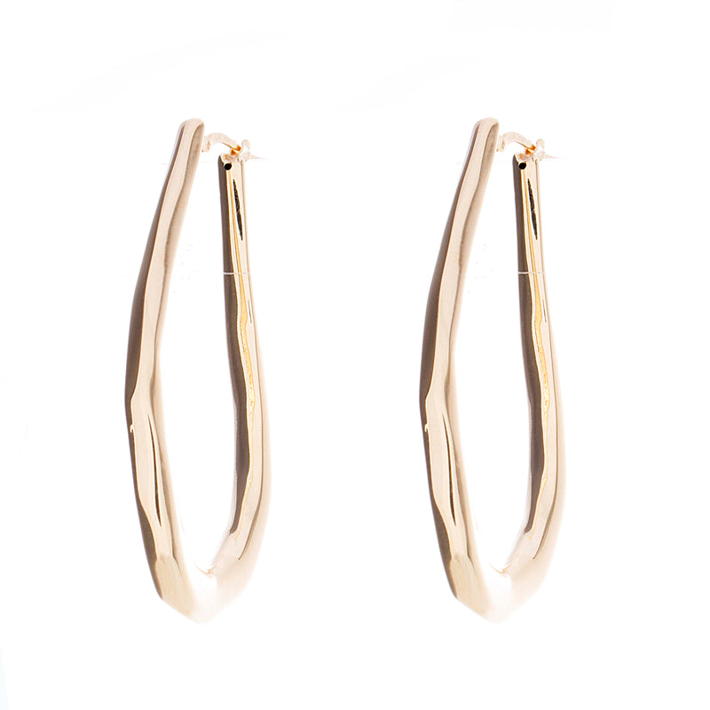 Gold Fancy Hoops