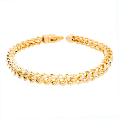 "Franco Bracelet 9"" 6mm - Jewelry Store in St. Thomas 