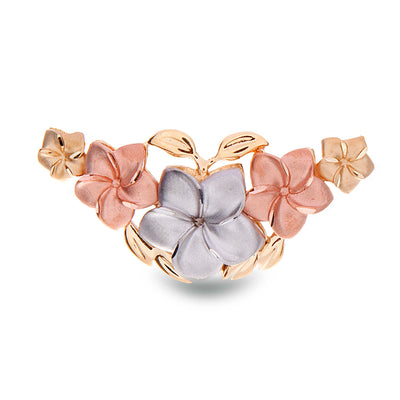 Tri-Tone Gold Flower Slider - Jewelry Store in St. Thomas | Beverly's Jewelry
