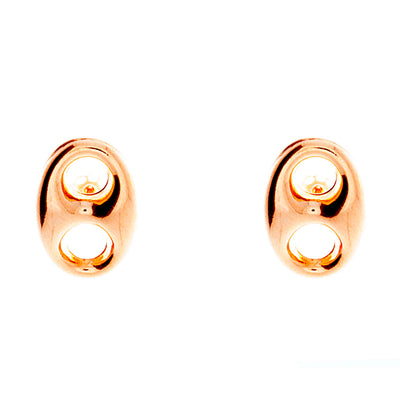 Puffed Mariner Earrings 13mm - Jewelry Store in St. Thomas | Beverly's Jewelry